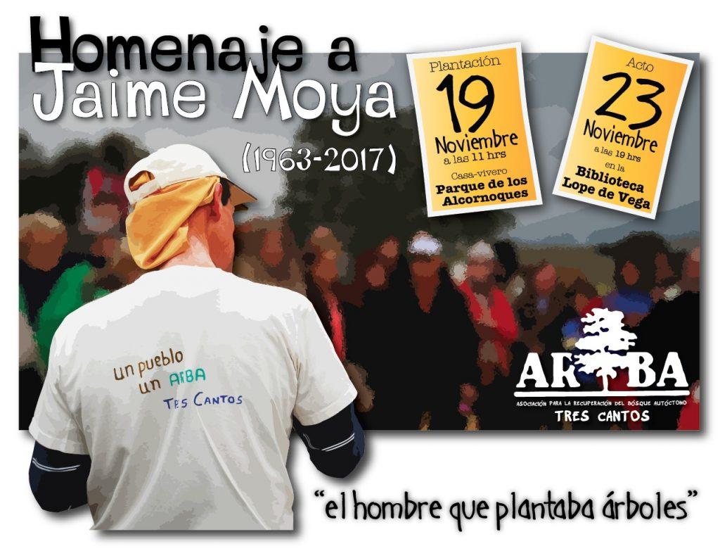 Homenaje a Jaime Moya